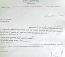 Mientras sigue la pelea de ATE en el INTI, Dolman pide licencias gremiales para toda su familia