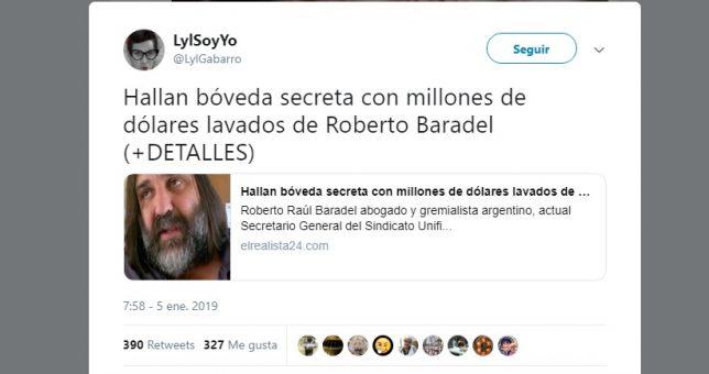 Con un ejército de trolls, el Gobierno viralizó una noticia falsa sobre Baradel y anticipa el conflicto docente