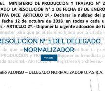 Previsible: el interventor de Barrionuevo en el gremio de Seguridad quiere suspender las elecciones