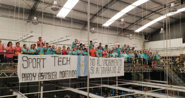 Tras meses de conflicto, cerró la textil SportTech y despidió a sus 120 empleados