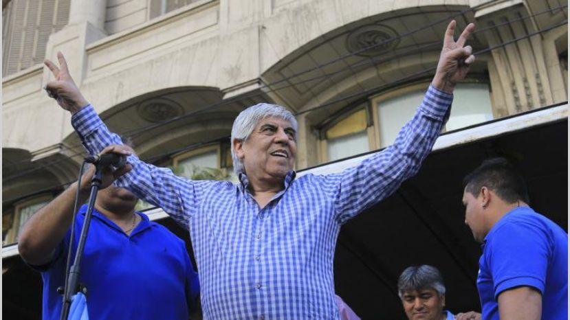 """Moyano ya habla de su retiro: """"Mi sucesor en el movimiento sindical será Pablo"""""""