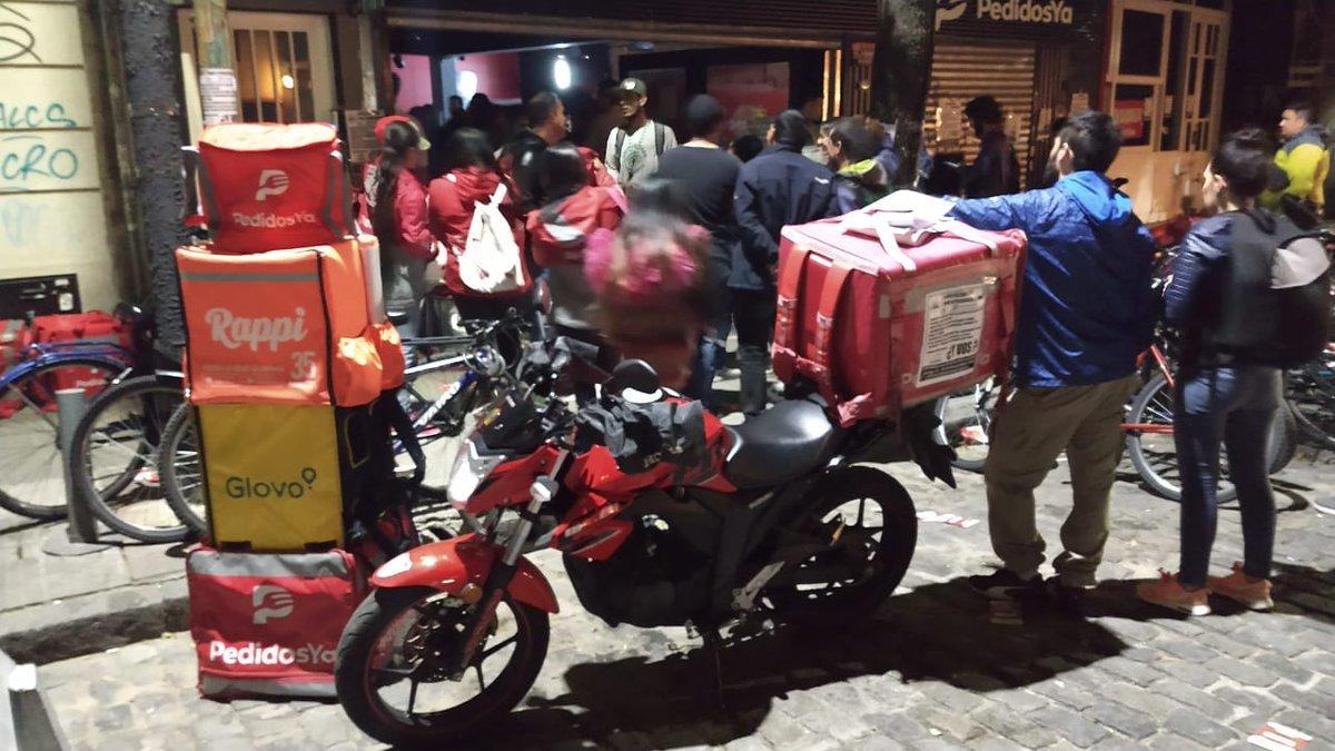 Ocupan el centro de logística de PedidosYA por los 450 despidos