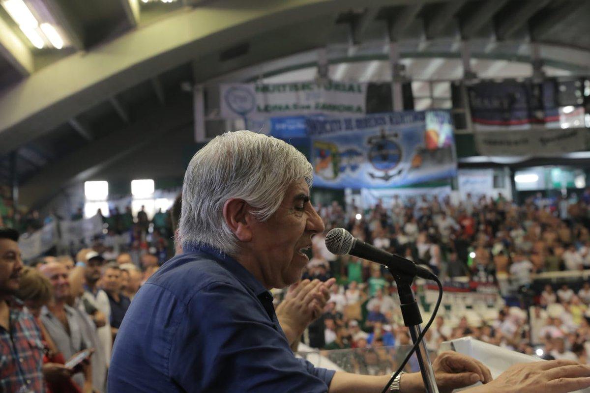 """""""La Unidad es la fórmula de terminar con este gobierno, que es una pesadilla para los trabajadores"""""""