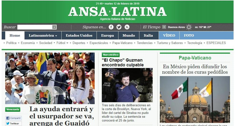 La agencia de noticias italiana ANSA despidió más de la mitad de su redacción en Argentina