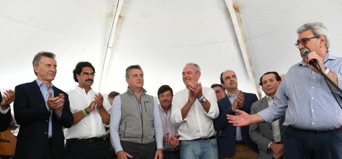 El heredero de Venegas pidió «20 años más de Cambiemos»