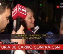 Para el gremio de televisión, las palabras de Carrió confirman que hay persecución contra C5N