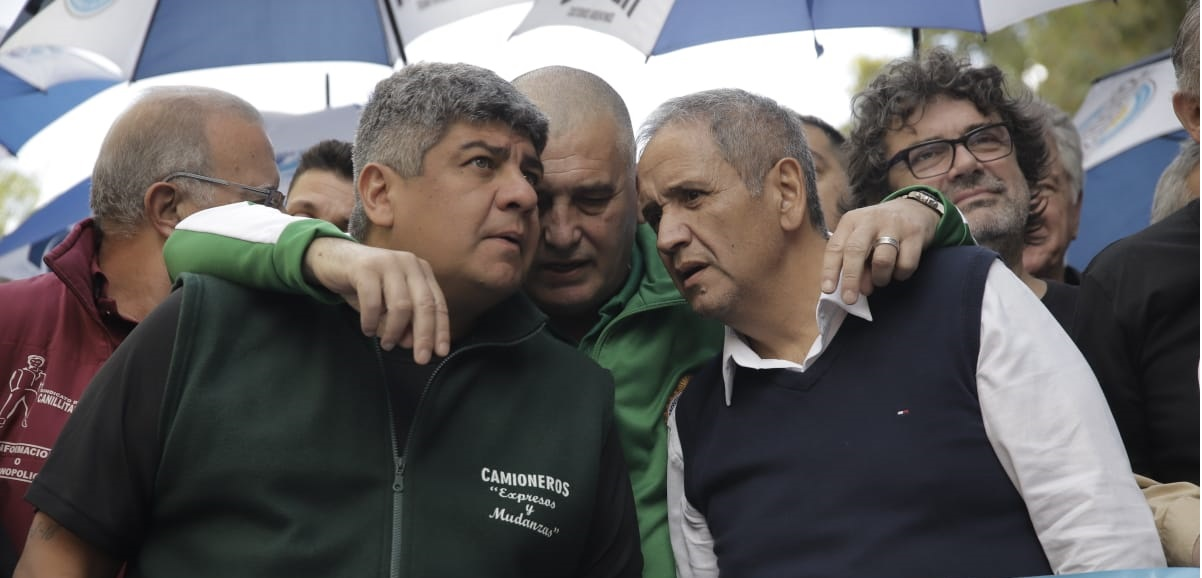 Pablo Moyano criticó a la conducción de la CGT por estar «ausente» y pidió un paro general
