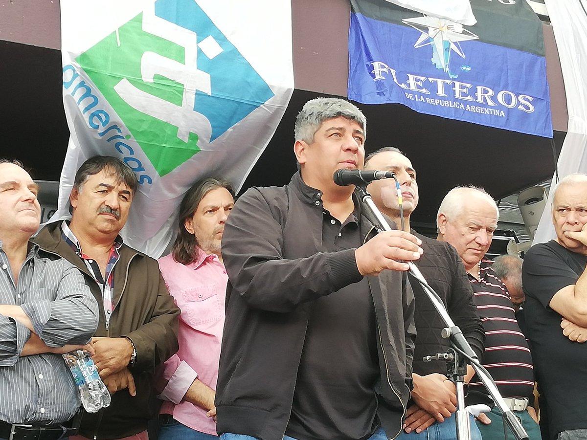 Pablo Moyano respaldó la ocupación de la sede de PedidosYA