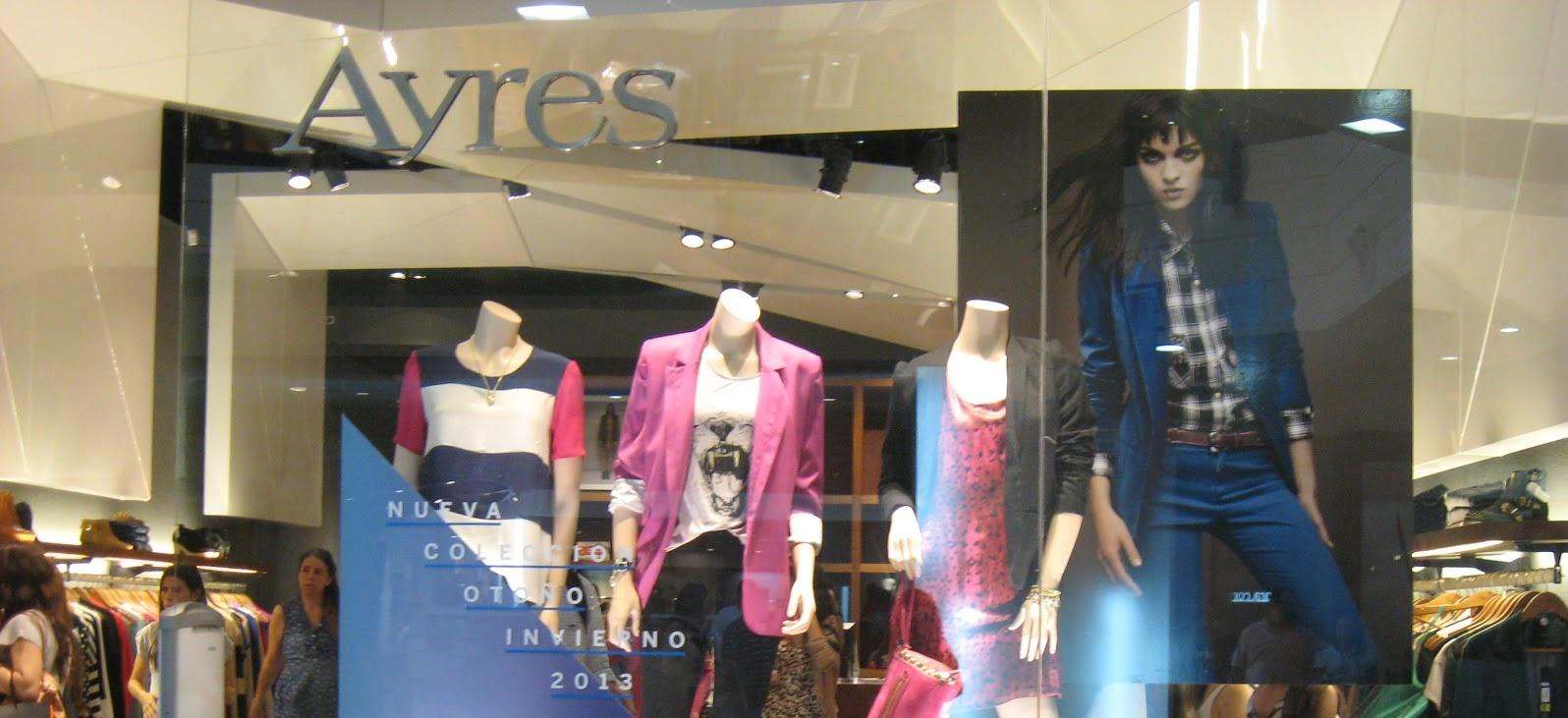 Ayres, otra marca de ropa que se presentó en concurso de acreedores