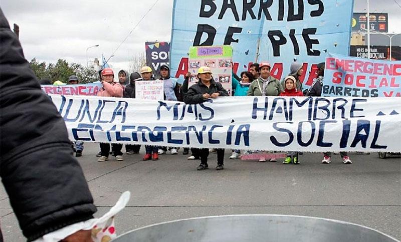 Piquetes, cortes y ollas populares en otra jornada de protesta en reclamo de la paritaria social