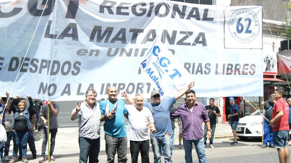 Caravana de la CGT La Matanza por la producción y el trabajo