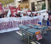 """Para los médicos, """"Vidal no tiene a la salud entre sus prioridades"""""""