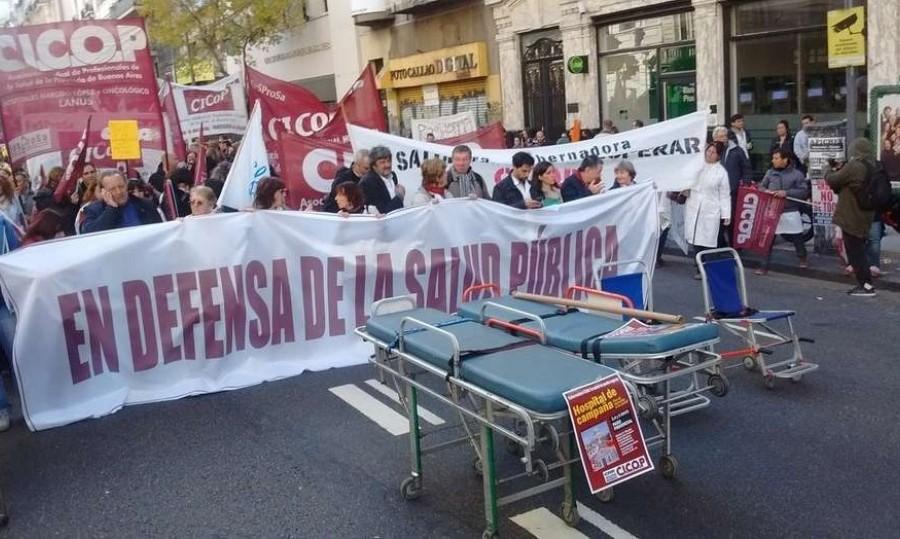 Para los médicos, «Vidal no tiene a la salud entre sus prioridades»