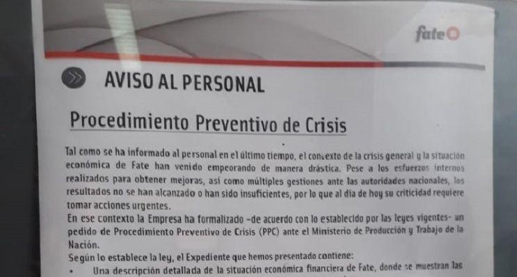 Cada tres días una empresa pide entrar en preventivo de crisis