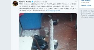 Cayó un trozo de pared e hirió a dos niños en una escuela bonaerense