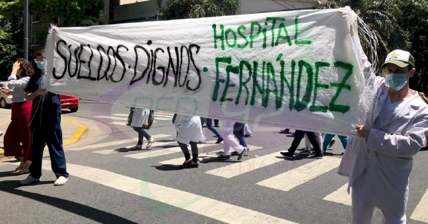 Los médicos porteños paran por 36 horas y se generaliza la rebelión salarial contra Larreta