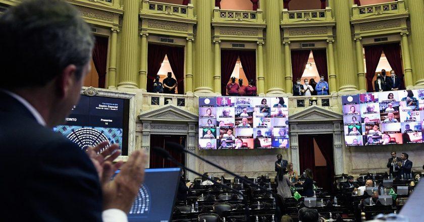 Abrumadora mayoría y un llanero solitario: así votaron los diputados de extracción sindical la legalización del aborto