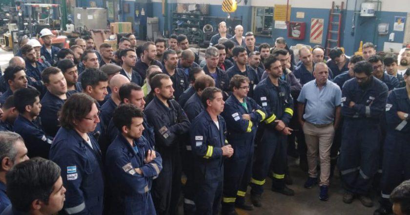Petroleros se movilizan a Economía para poner en agenda la «crisis del biocombustible» que tiene en jaque 9 mil empleos