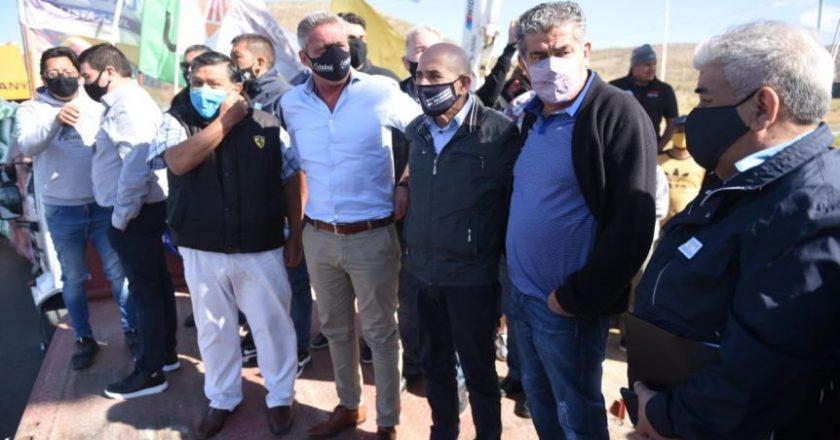 Un variopinto arco gremial movilizó a favor de la minería en Chubut