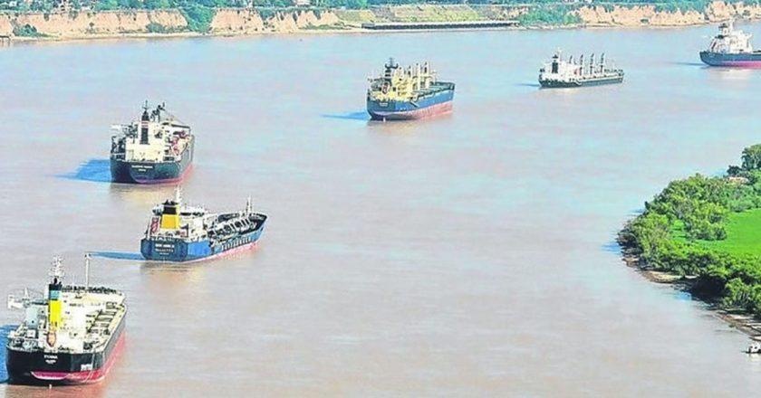 Schmid avisa que paralizará la Hidrovía si no se resuelve el traspaso de los 800 trabajadores de Dragado y Balizamiento