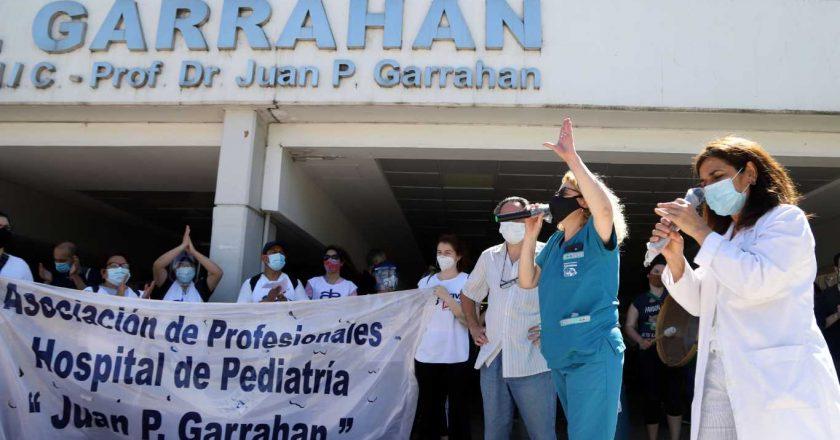 Los trabajadores del Hospital Garrahan paran contra el acuerdo de UPCN