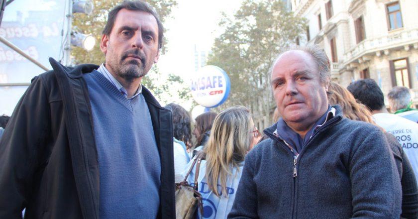 """""""Los padres no van a mandar a sus hijos para que el imbécil de Larreta haga campaña electoral"""""""