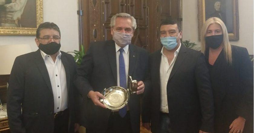 Voytenco se mostró con Fernández en medio del paro agropecuario y se llevó el apoyo de La Rosada en la interna con Ansaloni