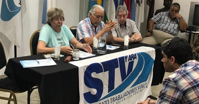 El sindicato de vialidad lanzó un programa nacional de vivienda para afiliados