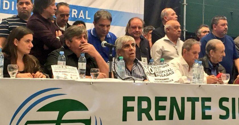 El Frente Sindical se mete en el debate por la Reforma Judicial: «Nuestra democracia aún sufre los ataques de la oligarquía judicial»