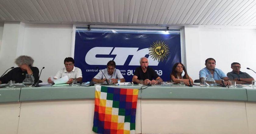 La CTA Autónoma pide que convoquen a gremios y movimientos sociales para atacar la inflación y la especulación financiera