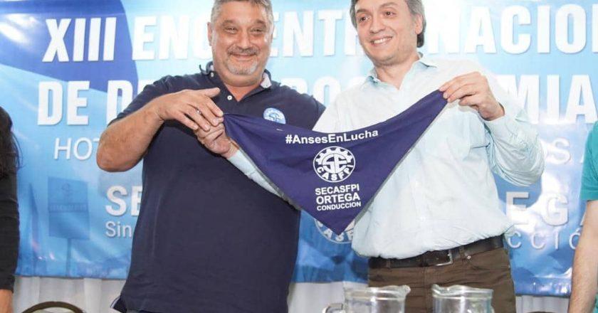 Ortega, un leal a Máximo, jura hoy y el sindicalismo gana una banca más en diputados
