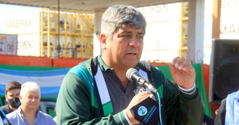 Con Pablo Moyano a la cabeza, Camioneros paralizó la terminal 4 del Puerto Argentino en reclamo de un bono y reincorporaciones