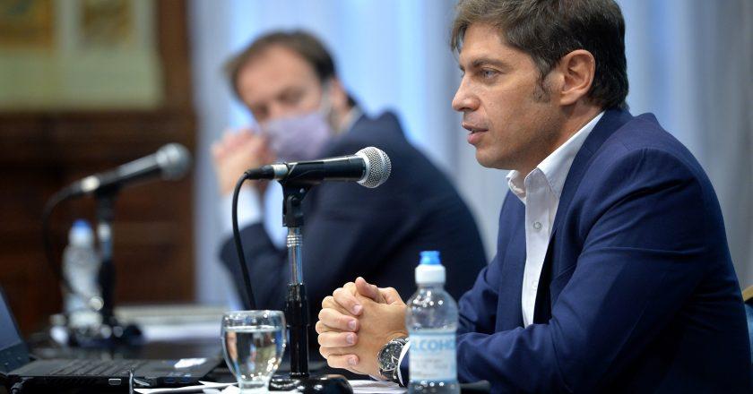 En medio de la disparada de los contagios, Axel Kicillof también dispuso teletrabajo para los estatales
