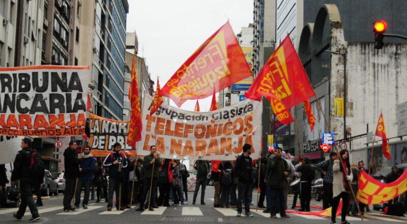 La oposición del gremio telefónico marcha al Congreso para reclamar la participación en las Ganancias