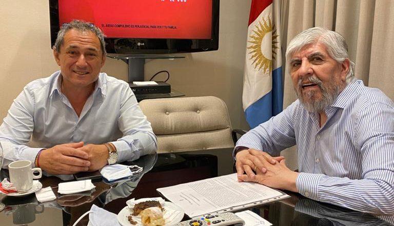 La reunión de Sasia con los Moyano disparó los rumores de unidad pensando en la interna cegetista