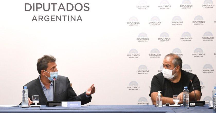 Moroni y Marco del Pont, los primeros expositores del debate del impuesto a las Ganancias que comienza el martes