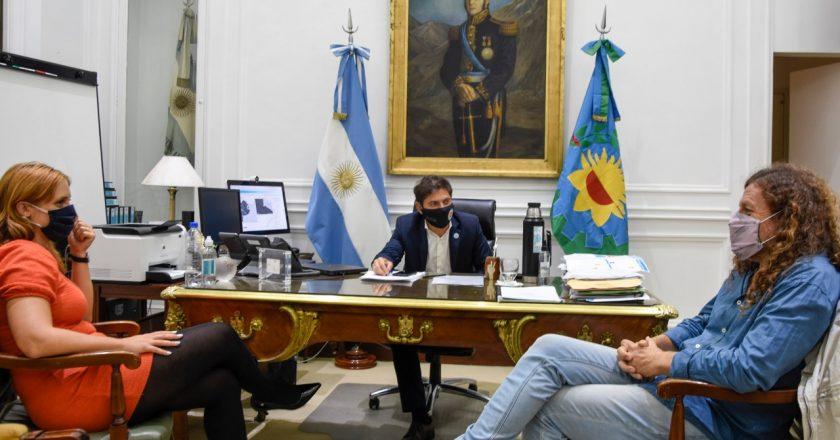La relación entre Kicillof y ATE pasa por su mejor momento y De Isasi ya pide que gane el Frente de Todos en octubre