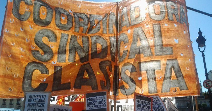 El sindicalismo clasista marchará al Consejo del Salario para reclamar un ingreso universal de $ 40 mil y un salario mínimo de $ 60 mil