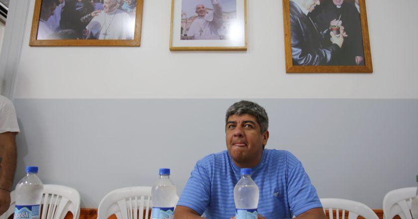 Pablo Moyano harto: «No solamente tenemos que aguantar al gorila viejo de Leuco, sino que tenemos que aguantar al pichón de gorila de su hijo»