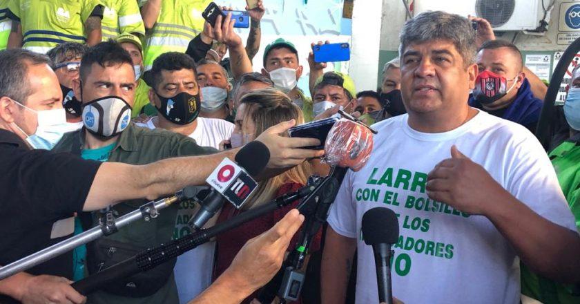 Pablo Moyano pidió que De Narváez «que ha ganado muchísimo dinero, comparta esa ganancia con sus trabajadores»