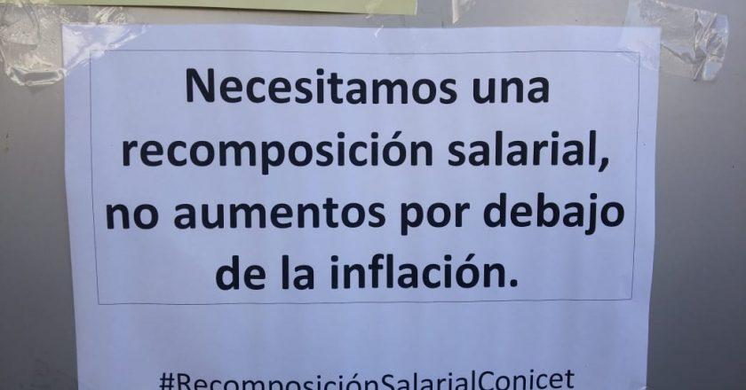 El personal de gestión del CONICET para por aumento salarial y reclama un Convenio Colectivo para independizarse de UPCN
