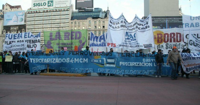 Fragmentado, el sindicalismo clasista encara marchas y movilizaciones para reclamar un Salario Mínimo de 60 mil pesos
