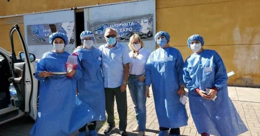 Barrionuevo viajó a Catamarca a vacunarse y pidió que el Gobierno vuelva a otorgar el ATP