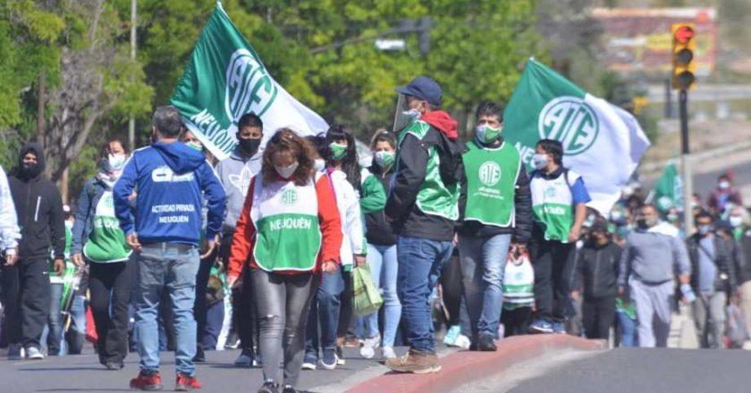 Para que las basen no lo sobrepasen como sucedió en el área de salud, ATE Neuquén definió un paro por tiempo indeterminado por aumento salarial