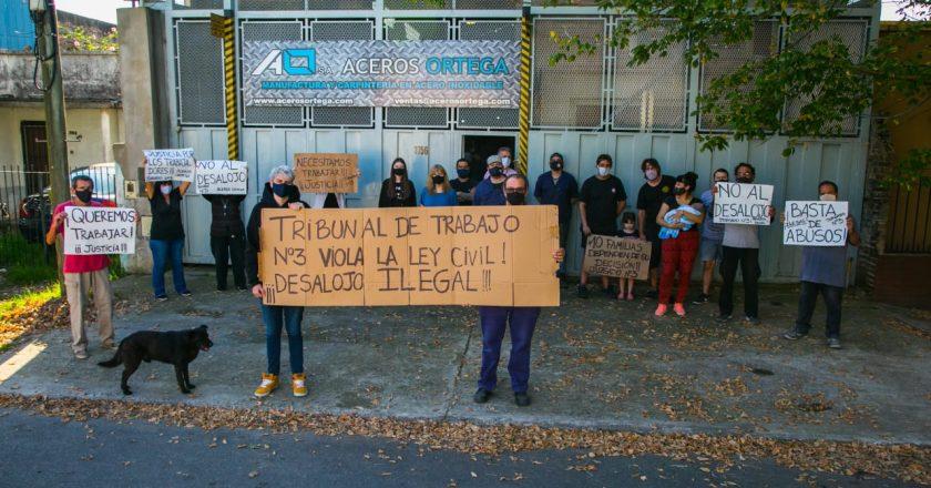 Aceros Ortega al borde del desalojo: «La justicia laboral pretende que trabajadores paguen a otros trabajadores»