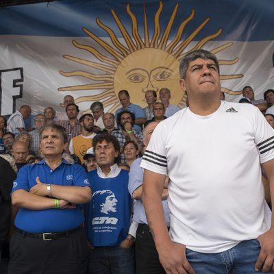 Pablo Moyano contra Randazzo: «El problema claramente son los 'dirigentes' como él, que hablan de la pobreza, la indigencia, de los desocupados, los jubilados, mirando la televisión»