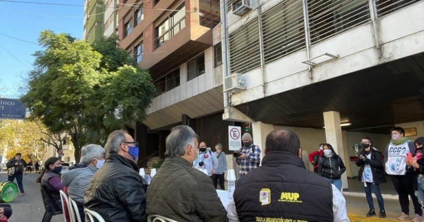 Nuevo reclamo de trabajadores de Aceros Ortega frente al Tribunal de Trabajo
