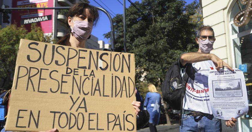 A pesar de los duros descuentos, siguen las huelgas docentes y no docentes en la Ciudad: «en Larreta hay una especie de negacionismo»