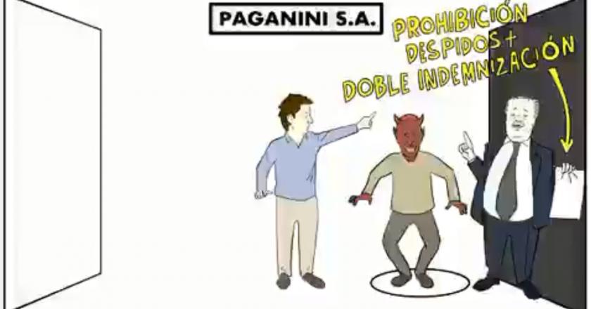 Insólito video de LN+ en el que demonizan a los trabajadores y victimizan a los empleadores