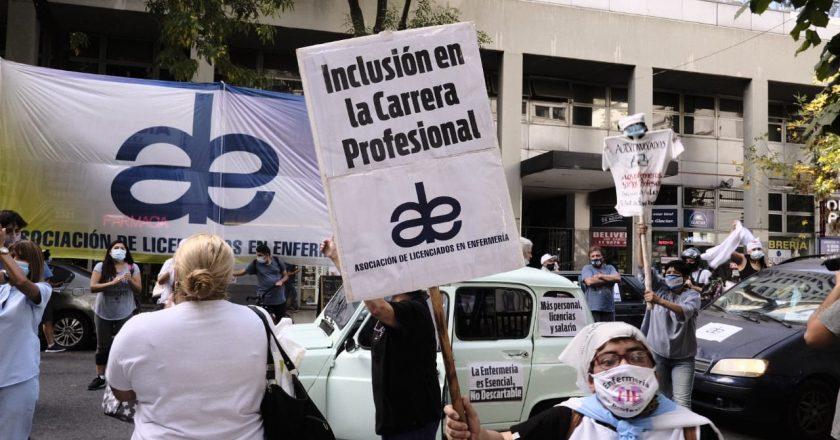 Personal de enfermería realizará una Marcha de Antorchas en CABA: «Necesitamos el respaldo de la comunidad»
